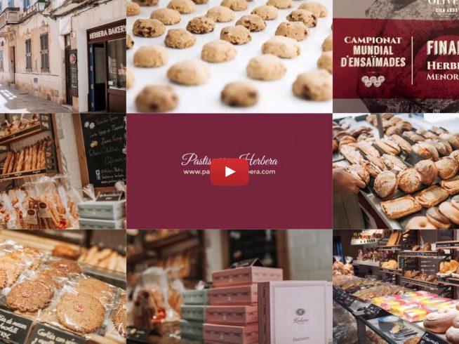 Diseño de video para pastisseria Herbera en Menorca