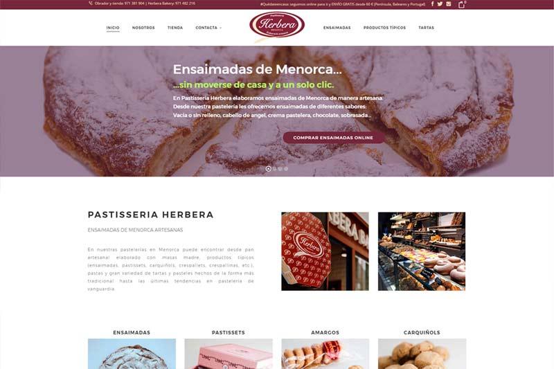 Pastissería HERBERA en Menorca