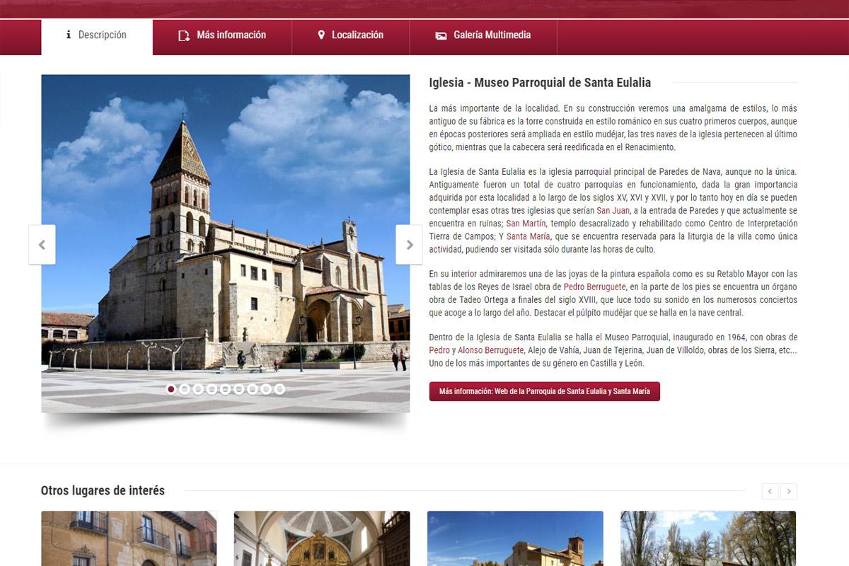 ParedesdeNava.org web oficial del Ayuntamiento de Paredes de Nava
