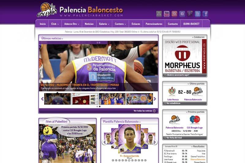 Palencia Baloncesto versión 3.0