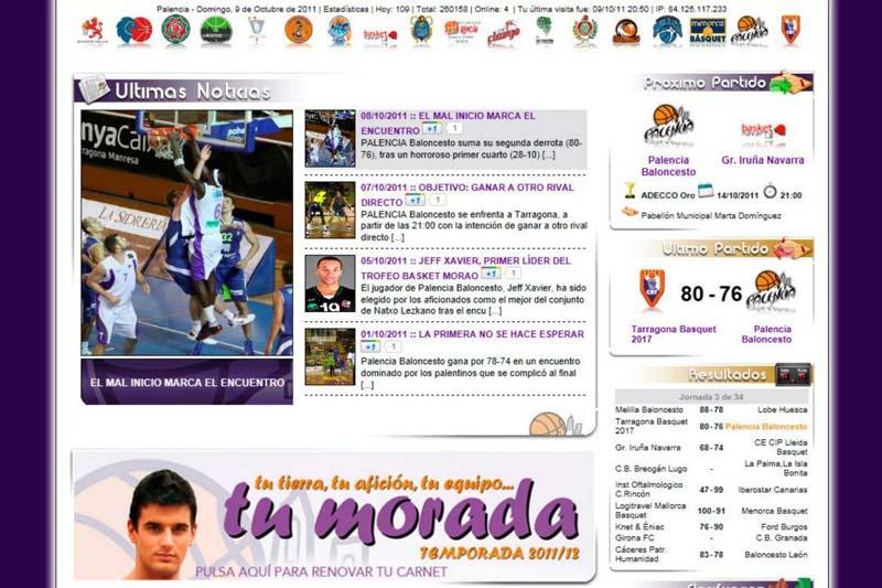 Palencia Baloncesto versión 2.0