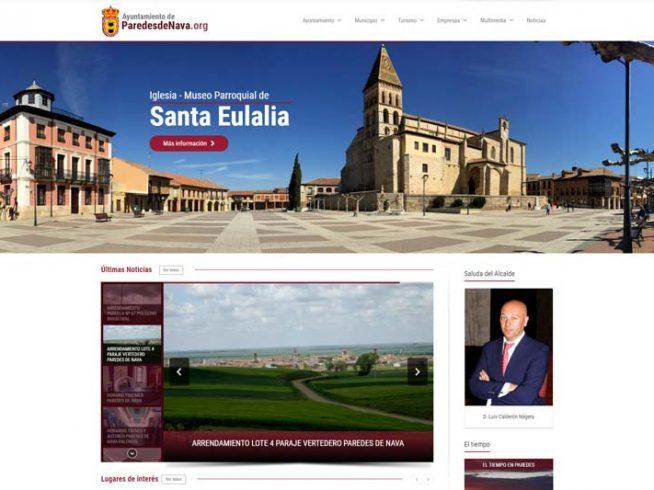 Ayuntamiento de Paredes de Nava - web oficial