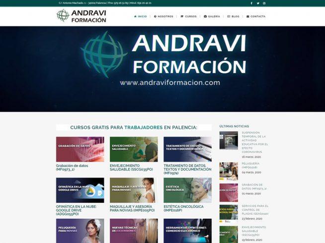 ANDRAVI FORMACIÓN en Palencia