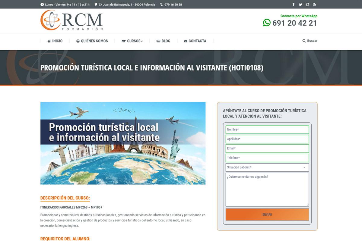 RCM Formación en Palencia