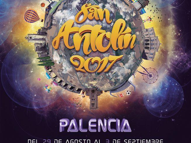 Cartel San Antolín Palencia