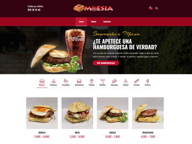 Tienda online Burger Palencia
