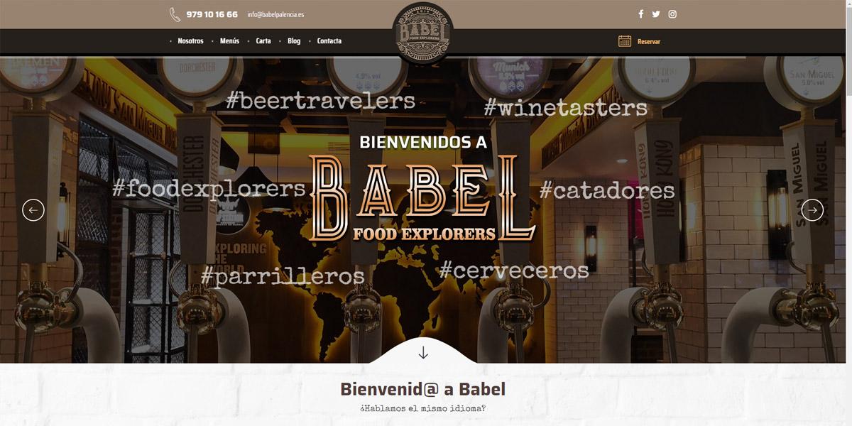 BabelPalencia.com realizada en Morpheus